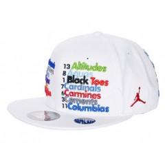Кепка  Air Jordan Nicknames Fitted Baseball Cap