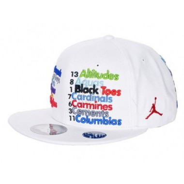 Кепка  Air Jordan Nicknames Fitted Baseball Cap - фото №1
