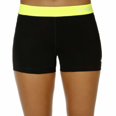 "Шорты женские Nike Pro 3"" Cool - Compression Sz M Volt  51 - фото №1"