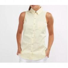 Рубашка женская Super Harborside™ Woven Sleeveless Shirt желтый 175