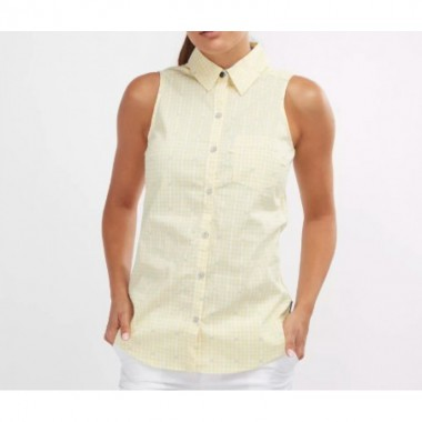 Сорочка жіноча Columbia  Super Harborside™ Woven Sleeveless Shirt желтый 175 - опис, характеристики, відгуки