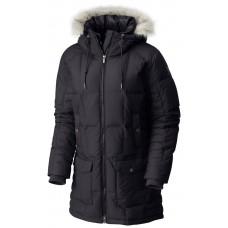 Куртка пухова жіноча COLUMBIA DELLA FALL  black - фото