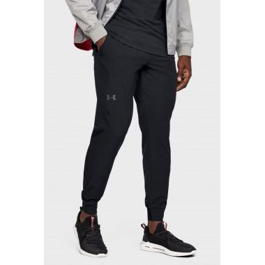Мужские черные спортивные брюки Under Armour STRETCH WOVEN UTILITY JOGGER - описание, характеристики, отзывы