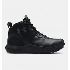 Чоловічі чорні черевики UA MG Valsetz Mid LTHR WP