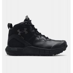 Мужские черные ботинки UA MG Valsetz Mid LTHR WP
