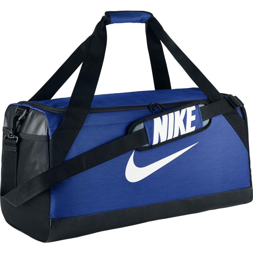 Сумка Nike NK BRSLA M DUFF синяя